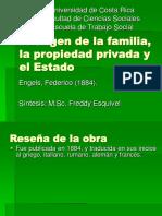 El origen de la familia, la propiedad