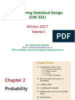 CHE 331 - Tutorial - Chapter 2