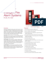 K85005-0137 -- FX Series Intelligent Fire Alarm Systems