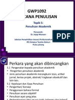 Topik 5. penulisan akademik (1)