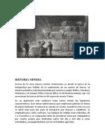 Historia de La mineria esc