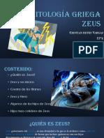 Mitología griega Zeus