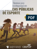 CREPOP PSICOLOGIA DO ESPORTE