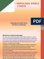 Presentación Curso de Hidrología Básica _V PARTE_29Abr2015-1