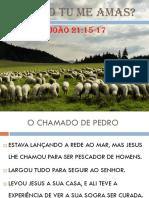 PEDRO TU ME AMAS - AULA DE JOVENS