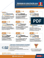 CALENDARIO CURSOS PERU 2020