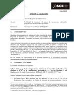 Opinión 126-12 - PRE - DIRECCION REGIONAL DE CULTURA CUSCO - Prestaciones adicionales