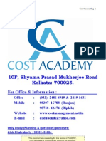 1 Costing Notes for Pcc