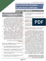 PCDF - Escrivão - 7º Simulado - FOLHA DE RESPOSTAS