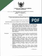 PerESDM 15 2015 - Pengelolaan WK Migas Berakhir Kontrak