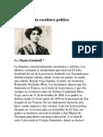 Lola Mora la escultura política_Mario Goloboff