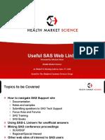 Useful SAS Links PhilaSUG