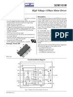 SCM-1101M Datasheet