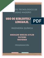 Uso de bibliotecas de lenguaje
