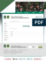 Símbolos - Portal Policia