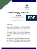 CRISIL Ratings Ipo Financing Volumes Nov10
