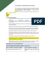 SOLICITUD DE DOCUMENTOS Y EXÁMENES MÉDICOS DE INGRESO