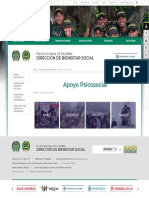 Apoyo Psicosocial - Portal Policia