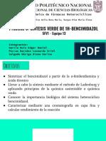 Práctica 8. Verde 1H-bencimidazol