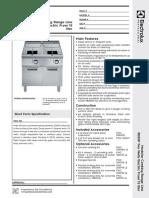 900XP 2 Wells Electric Fryer 15 liter_391088
