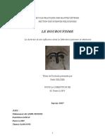 LE HOUROUFISME La Doctrine Et Son Influe