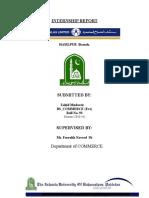 Bank Al-Falah Report Zahid Ch 2010-14