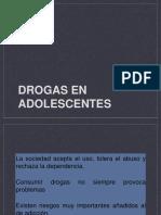drogadiccion en adolecentes