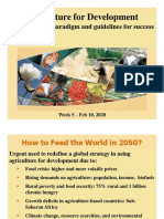 Lecture 9 -Agric for development