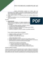 Tp 2 Porlan Ariza Pasado Presente y Fututro de Las Didacticas de Las Ciencias