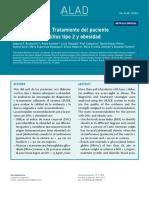 Consenso ALAD. Tratamiento del paciente con diabetes mellitus tipo 2 y obesidad