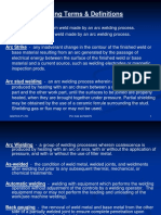 Welding Terms & Definitions