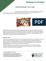Educational Psychology Career Guide