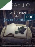 (by Jio Sarah) Le Carnet Des Jours Lointains 4460167 (z Lib.org)