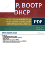 RARP, BOOTP, DHCP and PXE Protocols