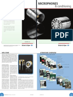 B&K microphones - product catalogue