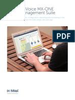 Broshure MX-ONE Management Suite 138364-R1804_EN