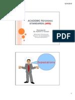 Academic Ref Standards