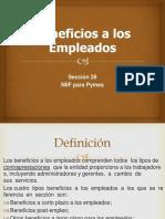 Benificios a empleados Presentación1