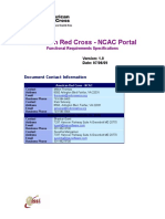American Red Cross Portal Requirements
