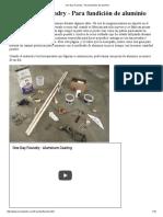 One Day Foundry - Para fundición de aluminio.pdf