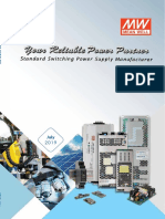 202001 Meanwell Catálogo Industrial 2019