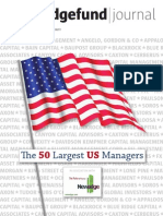 50 Largest Hedge Fund Managers in US