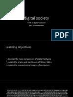 Week 3 Lecture 3 - digital hardware