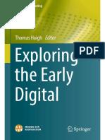 Week 1 Reading - haigh - exploring the early digital