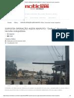 """SUPOSTA OPERAÇÃO AGITA MAPUTO_ """"Defesa"""" desmente recruta compulsiva"""