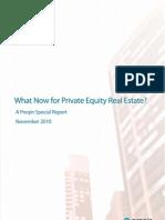 Preqin Private Equity Real Estate November 2010