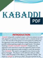 PPT KABADDI