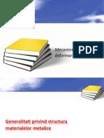Mecanismele deformarii plastice.doc