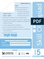 ISFO_ICSE_Paper_Grade-5