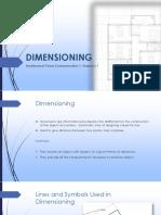 Dimensioning Basics in Drafting